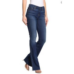 7 for all Mankind A Pocket Short Bootcut Jeans 32